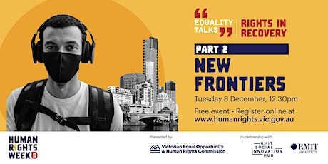 Equality Talks: Part 2 - New frontiers tickets
