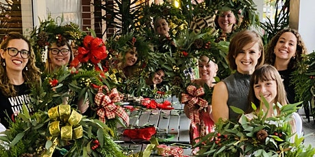 Christmas Wreath Workshop Macquarie Park tickets