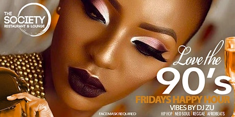 90's HAPPY HOUR (FRIDAYS) tickets
