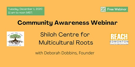 Community Awareness: Shiloh Centre for Multicultural Roots tickets