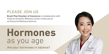 Hormones as you age. Are your hormones in balance? tickets
