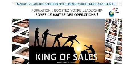 King of Sales - Formation sur le leadership billets