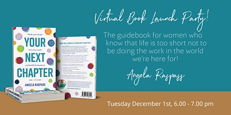 Virtual Book Launch - Your Next Chapter tickets