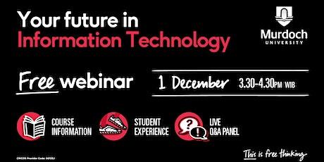 Webinar: Bachelor of Information Technology