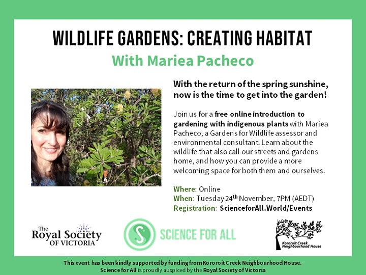 Wildlife Gardens: Creating Habitat image