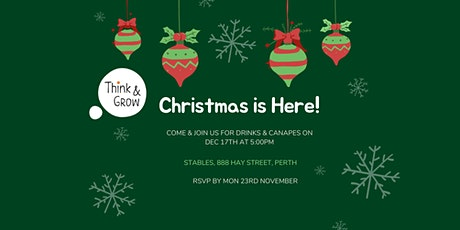 Christmas Drinks & Canapes tickets