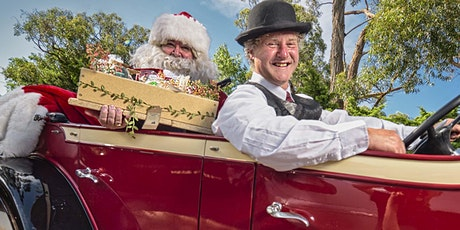 ADULT bush Christmas: locally- sourced hampers chauffeur delivered by Santa
