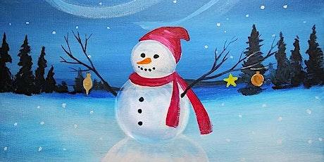 """Paint and Sip - """"Festive Snowman"""" - Hilton Gaslamp San Diego tickets"""
