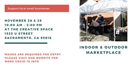 Holiday Market with Small Businesses at The Creative Space tickets