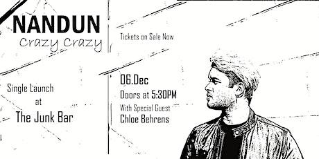 "Nandun ""Crazy Crazy"" Single Launch tickets"