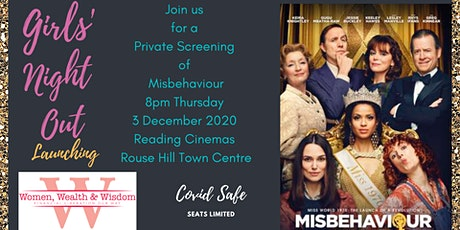 Misbehaviour Girls Night Out at the Movies tickets