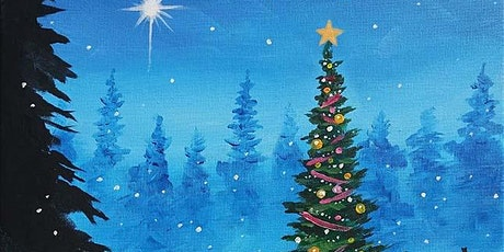 "Paint and Sip - ""Christmas Tree in the Woods"" - Estancia La Jolla Hotel tickets"