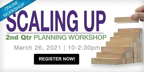 Q2 Scaling Up Planning Workshop: Business Execution (Online) tickets