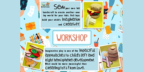 SG Felt Creative - Handicraft Workshop (Pancake Set A) tickets