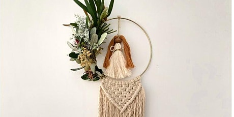 Macrame Workshop - Christmas Wreath tickets