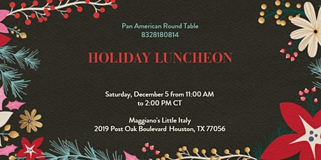 PART Holiday Luncheon tickets