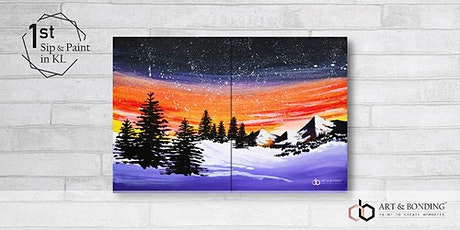 Sip & Paint Date Night : Winter Night tickets