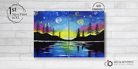 Sunday Sip & Paint : Starry Lake tickets