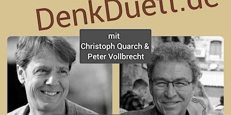 """DenkDuett Live-Talk """"Macht Glück glücklich?"""" tickets"""
