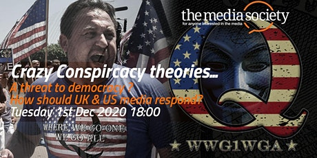 The Media Society: Conspiracy Theories tickets
