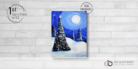 Sunday Sip & Paint : Winter Christmas tickets