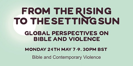 e-conference session 1: Bible and Contemporary Violence tickets