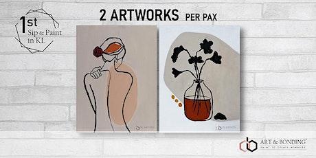 Sip & Paint Night : Boho Art Style tickets