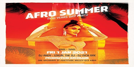 Afro Summer:   New Years Day Party tickets