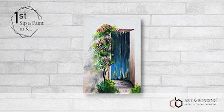 Sip & Paint Night : Provence Farmhouse Door tickets