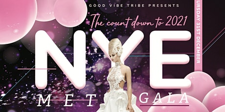 New Year's Eve 2021 Met Gala Banquet by the Sea tickets