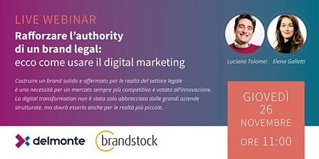 Rafforzare l'authority di un brand legal: come usare il digital marketing biglietti