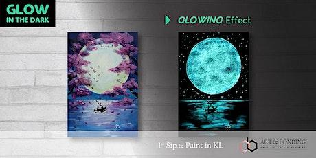 Glow Sip & Paint : Glow - Romantic Escape tickets