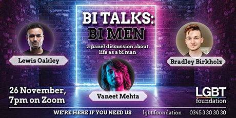 Bi Talks: Bi Men tickets