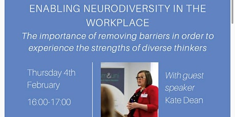 Enabling Neurodiversity in the Workplace tickets