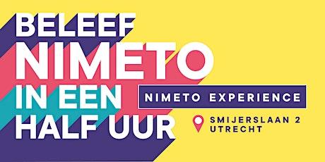 Nimeto Experience tickets