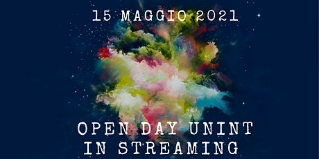 Open Day in streaming - 15 maggio  2021 tickets