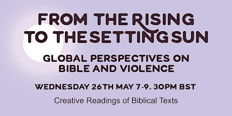 Session 4: Creative Readings of Biblical Texts tickets