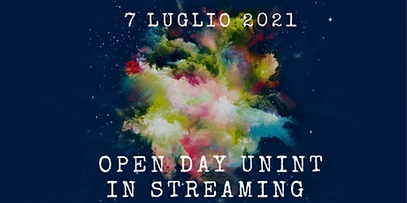 Open Day in streaming - 7 luglio  2021 tickets