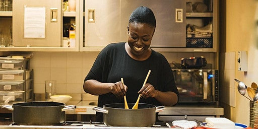Nigerian cookery class with Betty