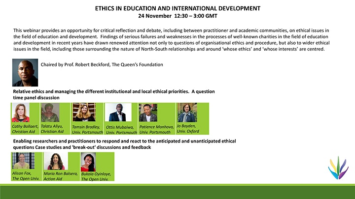 Ethics in Education and International Development image