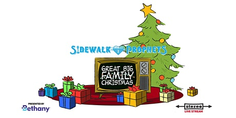 Sidewalk Prophets - Great Big Family Christmas  - December 9, 2020 (EST) tickets