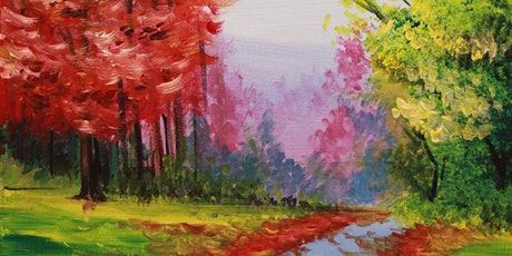 Chill & Paint Sat Night  Auck  City  - Colourful Trees tickets