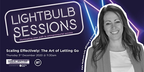 Scaling Effectively: The Art of Letting Go tickets