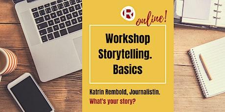 Online Storytelling - Basics für Social Media Tickets