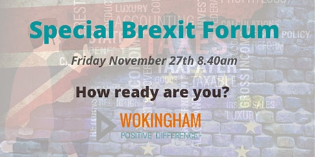 Wokingham Positive Difference SPECIAL: Brexit Forum tickets