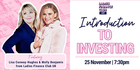 Introduction to Investing with Ladies Finance Club UK tickets