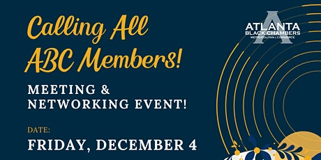 2020 Year End Members Only Meeting & Networking Event tickets