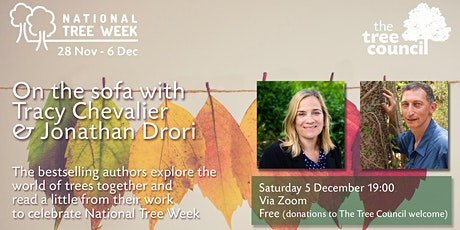 On the sofa with Tracy Chevalier & Jonathan Drori tickets
