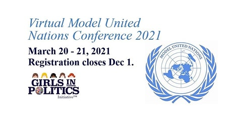 Virtual Model United Nations Conference 2021 tickets