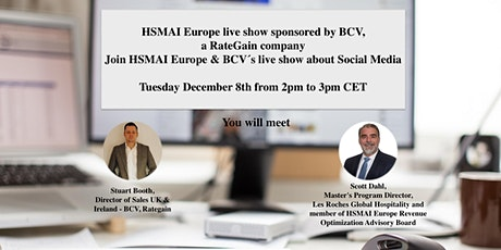 HSMAI Europe Live Show sponsored by RateGain tickets